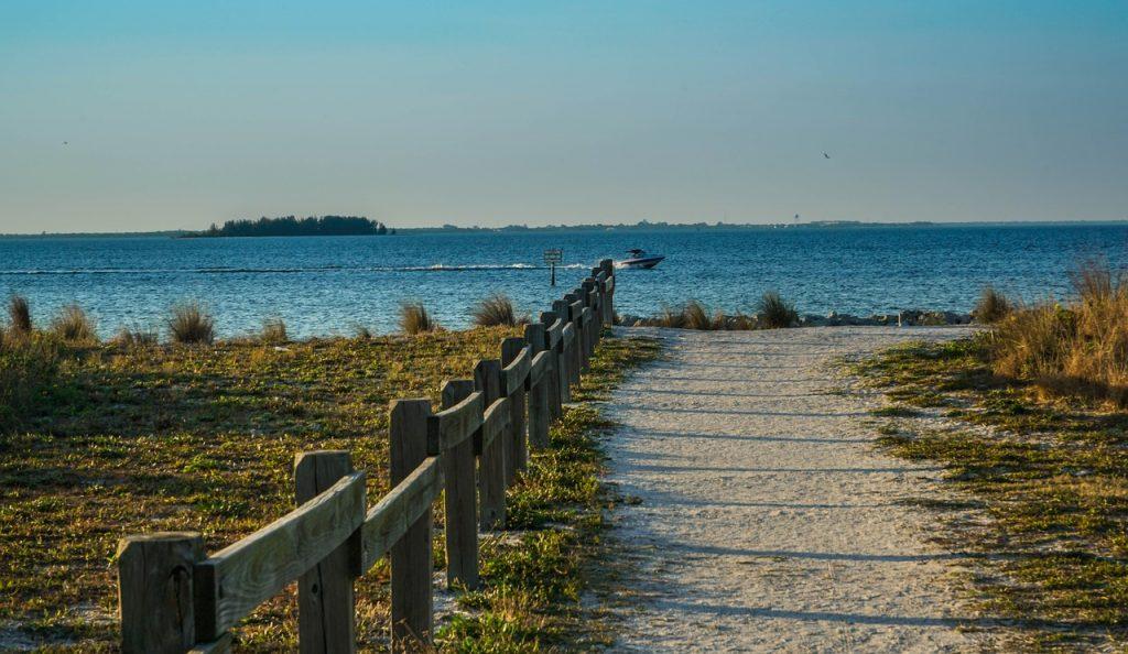 pláže na Floride