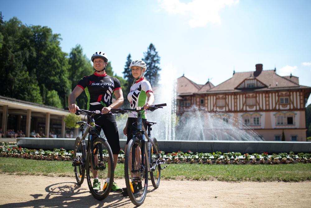 cyklotrasy Luhačovice a okolie