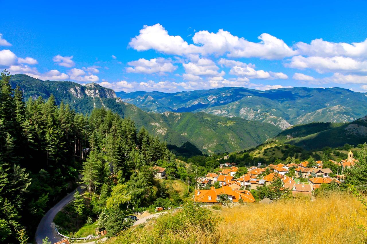 príroda v Bulharsku